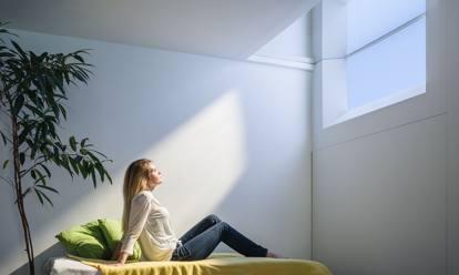 Coelux illuminazione solare artificiale