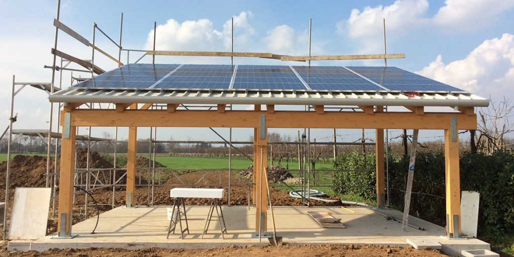Pergolato fotovoltaico