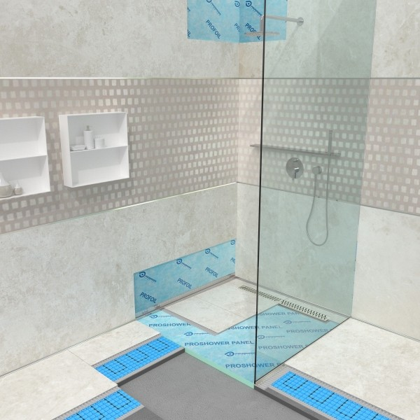A Cersaie 2017 Progress Profiles presenta innovative soluzioni per ottimizzare i vantaggi della doccia a filo pavimento