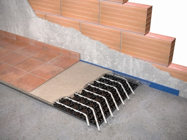 Wavin Italia presenta il sistema radiante a bassa inerzia termica Renova Ultra