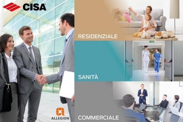 CISA e SimonsVoss rappresentano Allegion a Sicurezza Milano 2019 con soluzioni di sicurezza personalizzate e integrabili