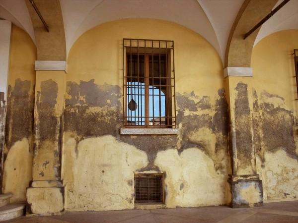Muri umidi portanti, affetti da patologia per risalita capillare