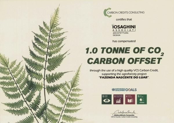 Iosa Ghini la prima società di progettazione Carbon Neutral