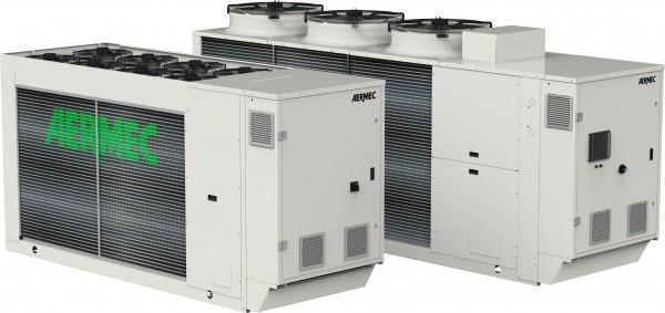 Pompe di aria-acqua con compressori Scroll anche ad inverter e refrigerante ecologico R32