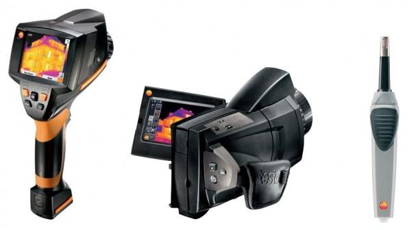 Localizzare con più precisione il pericolo di muffa con le termocamere e le sonde igrometriche Testo