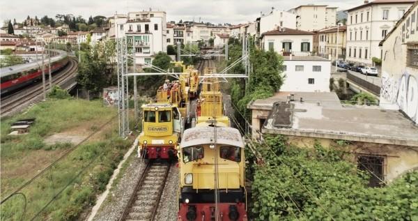 La best practice di Cemes nell'elettrificazione ferroviaria