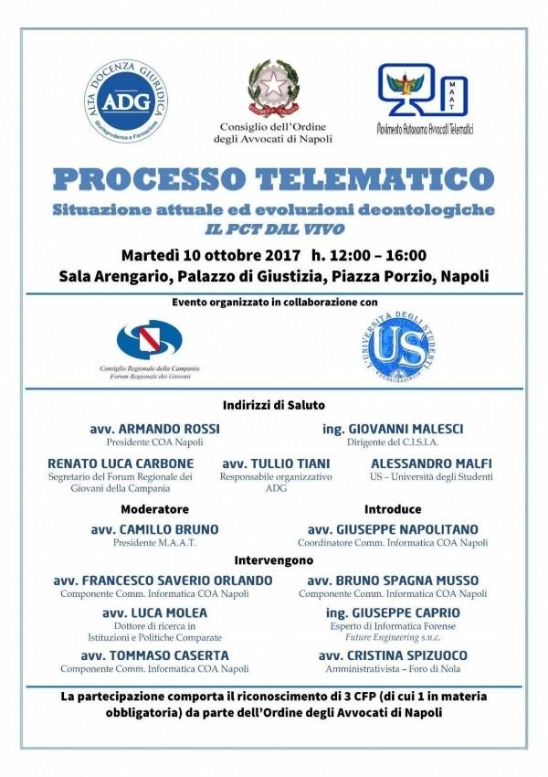 Processo Telematico - DedaloLab tra i relatori dell'evento