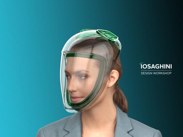 Massimo Iosa Ghini crea un nuovo gruppo creativo interdisciplinare per la progettazione di una maschera contro il virus
