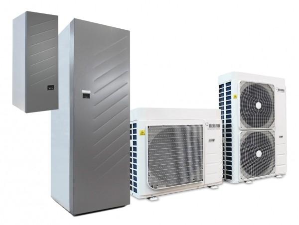 Prestazioni sempre elevate con le nuove pompe di calore Easy Pump di REHAU