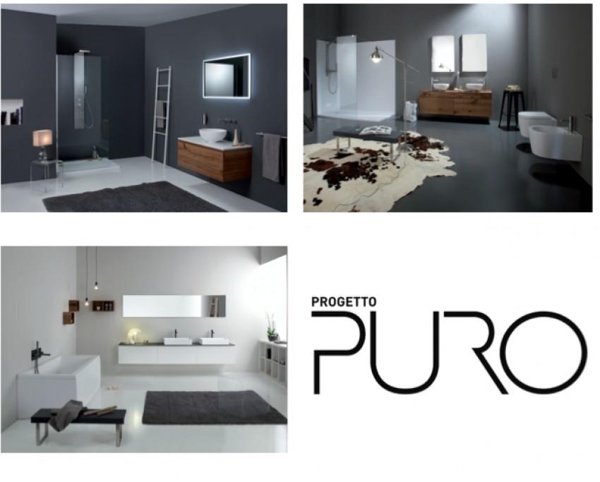 Dall'esperienza di Grandform nasce Progetto Puro: un concept globale per l'arredo dell'ambiente bagno