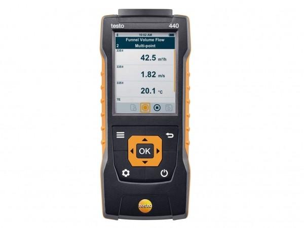 Misura intuitiva dei parametri ambientali: il nuovo strumento testo 440 combina massima versatilità e facilità di utilizzo