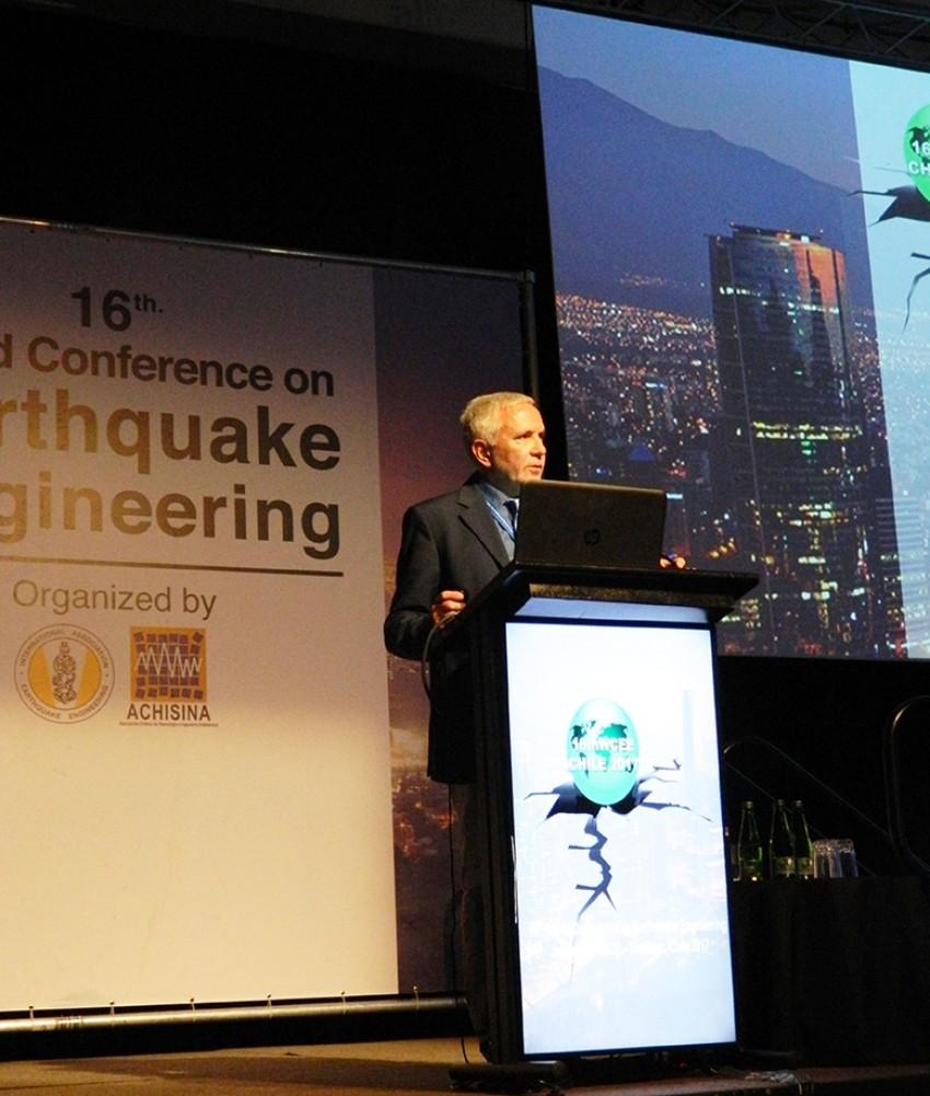 Le tecnologie ENEA per l'anti-sismica alla convention mondiale di Santiago del Cile