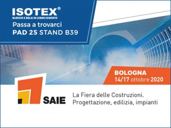 SAIE 2020, anche Isotex presente con il sistema costruttivo in legno cemento