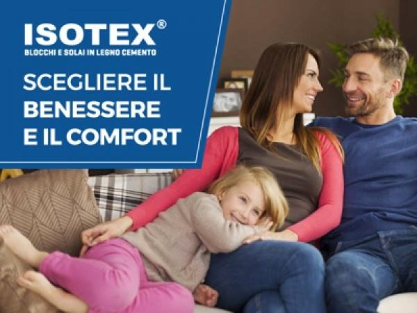 Il benessere e il comfort abitativo per chi sceglie una casa Isotex