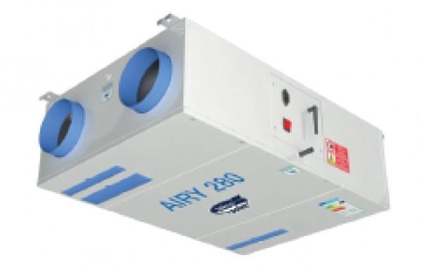 Tekno Point presenta Airy, la nuova linea di prodotti dedicata alla VMC (ventilazione meccanica controllata)