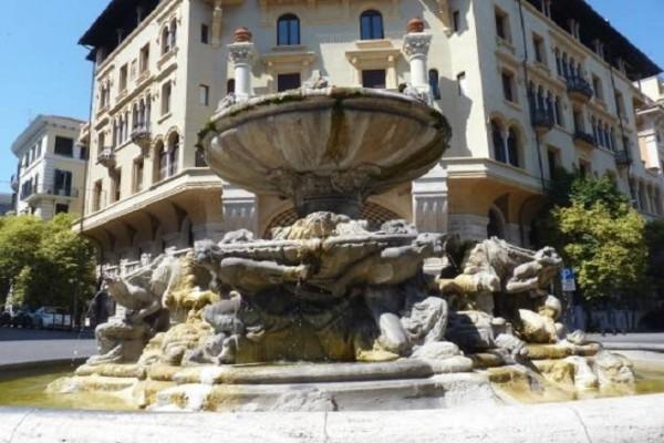 Fontana delle Rane a Roma, consolidamento fondazioni