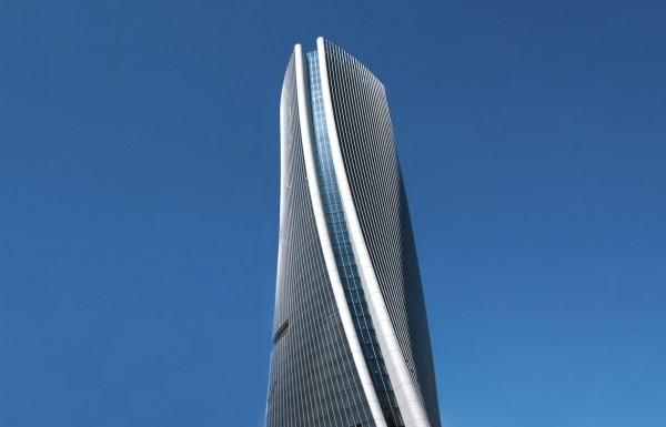Il grattacielo di Zaha Hadid che si avvita nel cielo
