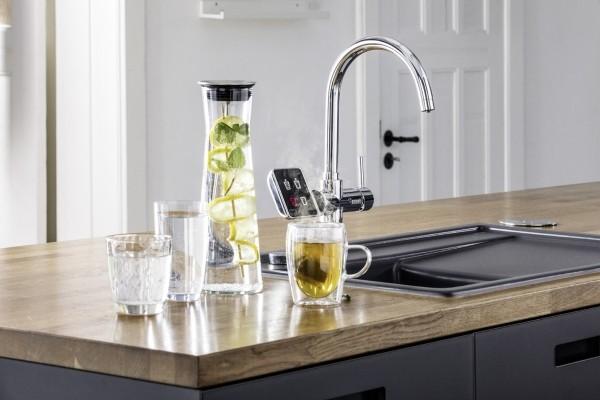 La rubinetteria si fa smart con RE.SOURCE di REHAU