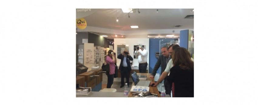 """Grande successo per Grandform alla """"virtual reality"""" di Progetto Puro organizzata presso il Gruppo Bea a Milano"""