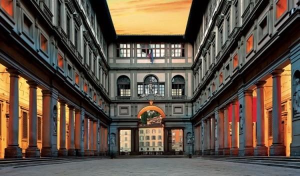 Tecnored anche agli Uffizi a Firenze