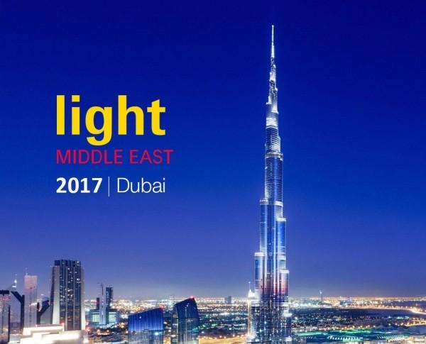 Light Middle East 2017 - Dal 17 al 19 ottobre 2017 Dubai International Convention and Exhibition Centre PO Box 9292, Dubai (Emirati Arabi Uniti)