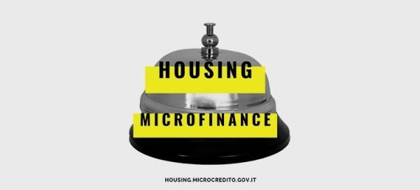 Microcredito per l'housing