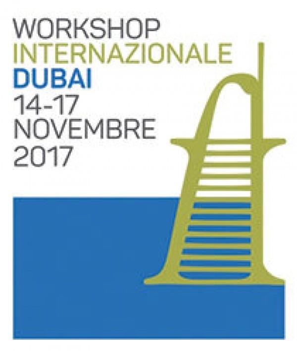 1° Workshop Internazionale di Dubai dal 14 al 17 novembre