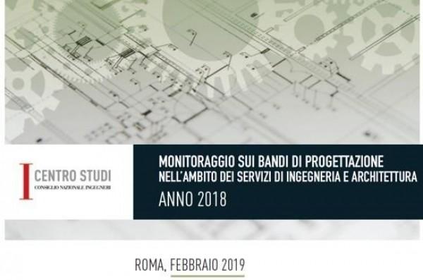 Servizi di Ingegneria e Architettura, +6% i bandi nel 2018