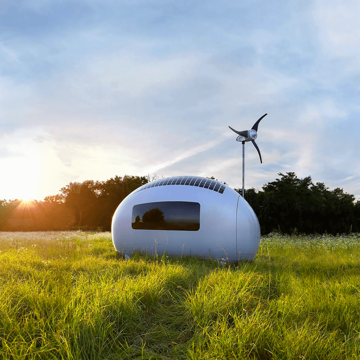 Ecocapsule mini case futuristiche for Case futuristiche