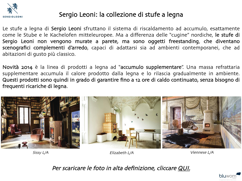 Lo Space Senza Pareti sergio leoni: la collezione di stufe a legna