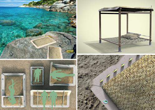 Ambiente alla triennale le eco strutture fatte con le alghe for Eco architettura