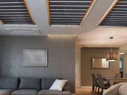Film scaldanti a soffitto
