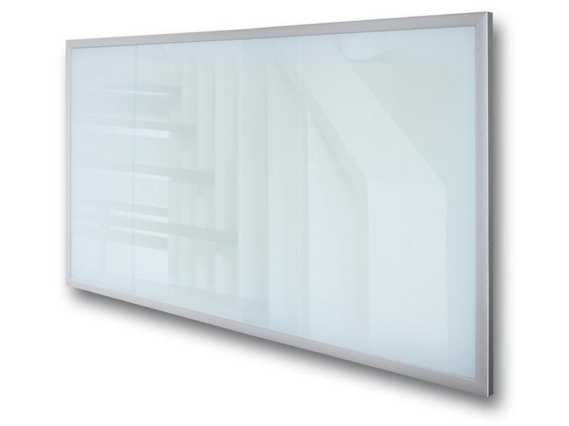 Pannelli radianti con cornice in alluminio