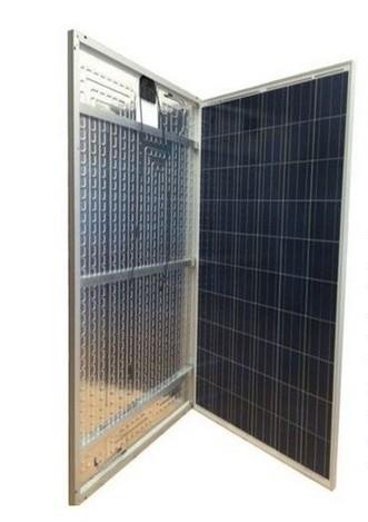 Pannello Ibrido Termofotovoltaico - Termofotovoltaico Energy Bond rappresenta una nuova generazione di pannelli termo fotovoltaici, oltre che convertire in energia elettrica parte dell'irraggiamento che capta, ha sul retro un collettore di alluminio il quale trasferisce il calore in eccesso generato dall'irraggiamento solare e dalla corrente prodotta dalle celle fotovoltaiche a un sistema termico a circuito chiuso acqua/glicole. Questa soluzione tecnica si può interfacciare con qualunque impianto termico oggi esistente e offre straordinarie opportunità:  1 - La capacità di produrre acqua calda per le utenze domestiche. 2 - L'accoppiamento con pompa di calore per il riscaldamento e i sanitari.