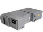 Unit Comfort UC 701/1001/2001 - Installazione orizzontale a controsoffitto, Applicazione in ambito terziario (media volumetria), Ventilatori modulari ad alta efficienza EC, Serrande dell'aria in dotazione, Funzionalità di deumidificazione, ricircolo, rinnovo con recupero di calore e integrazione potenza sensibile estiva, Valvola modulante obbligatoria, Kit scarico condensa (di serie).