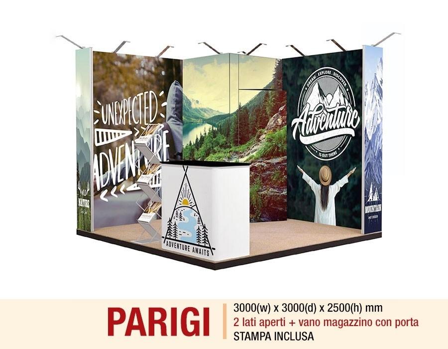 stand-textile-frame-parigi-2-lati-aperti-con-magazzino