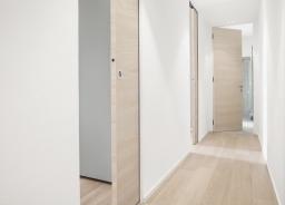 Porte con essenze in legno
