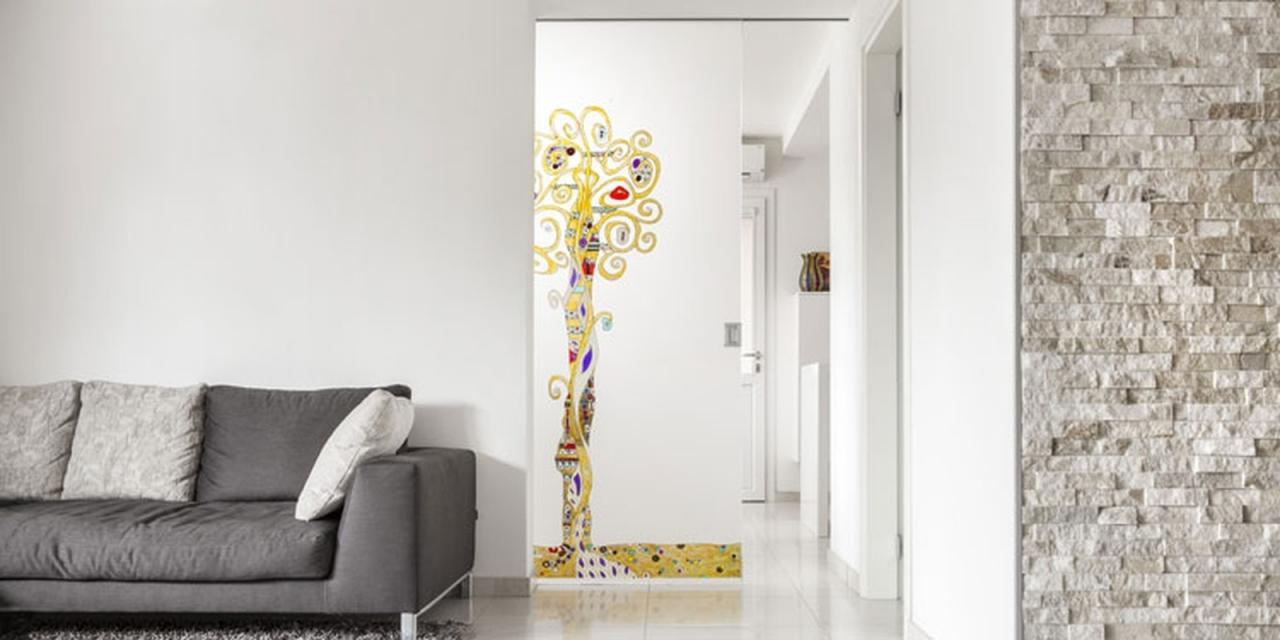 Porte Scorrevoli Vetro - Valorizza la tua casa con giochi di trasparenze, design e décor.