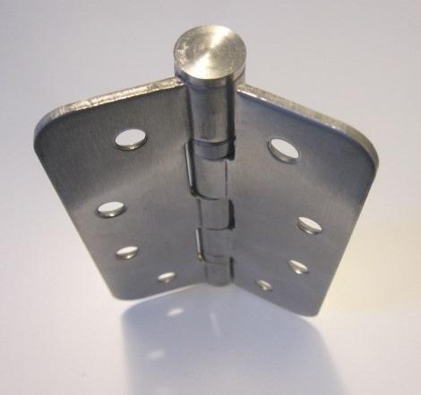 Chemolli Firebolt A7 - Cerniera metallica a due ali di spessore 2.5 mm, realizzata in acciaio Inox (classe 304), peso 252 g, in grado di supportare carichi fino ad un massimo di 30 Kg (da valutarsi per coppie di cerniere, in riferimento a porte a due ante).