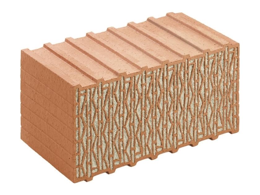 """UNIPOR W07 CORISO PLANZIEGEL PASSIVHAUS - UNIPOR W07 CORISO - Il mattone per la """"PassivHaus"""" realizzata con mattoni del marchio UNIPOR. Abitare in un ambiente sano proteggendo attivamente il clima; si creano le basi per una casa naturale e solida che soddisfi anche l'esigenza di progettare e costruire con un occhio al futuro. Questo mattone innovativo con CORISO, il materiale minerale naturale incorporato, é il risultato di anni di costante lavoro di ricerca e di sviluppo. UNIPOR W07 CORISO  raggiunge un valore di conducibilitá termica di  ?0,07[W/(mK)] ed è quindi perfettamente idoneo per la costruzione di case a bassissimo consumo energetico e case passive. Lo spessore 49 cm. è per sfruttare al meglio il valore di una casa passiva realizzata in mattoni, i fattori determinanti sono la progettazione, l'esecuzione accurata dei dettagli e naturalmente la scelta di un materiale edile che sia la base perfetta per un' abitazione sana, sostenibile assicurando assoluto comfort. In virtù delle sue proprietà fisiche, un sistema di costruzione realizzato con UNIPOR W07 CORISO è stato certificato come componente  idoneo per case passive. Il continuo risparmio di energia comporta anno dopo anno uno sgravio economico costante, che aumenta complessivamente il valore dell'immobile. L'investimento quindi, non è solo ecologico ma rappresenta anche un valore che aumenta con il passare degli anni."""