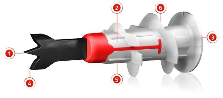 Fischer DUOBLADE - Il tassello autoforante per installazioni facili e veloci su pannelli e lastre di cartongesso
