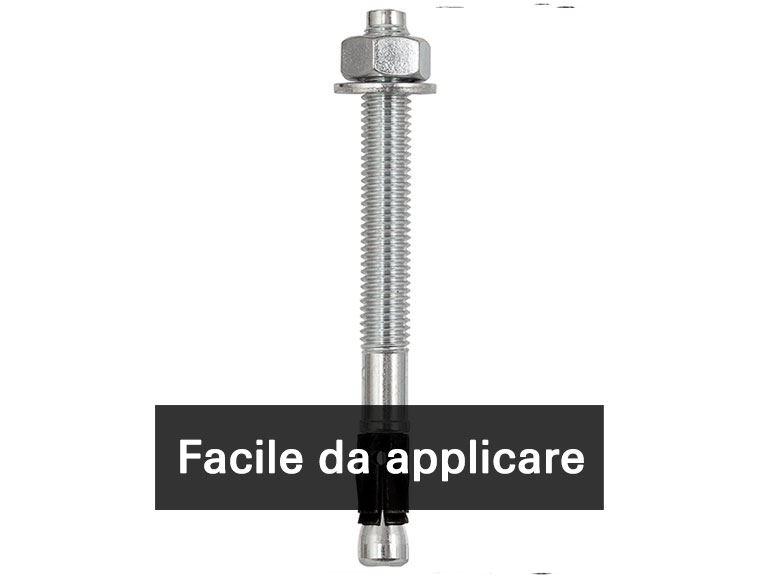 FAZ II - L'ancorante ad espansione potente e flessibile, per calcestruzzo fessurato e applicazioni sismiche in zona C1/C2