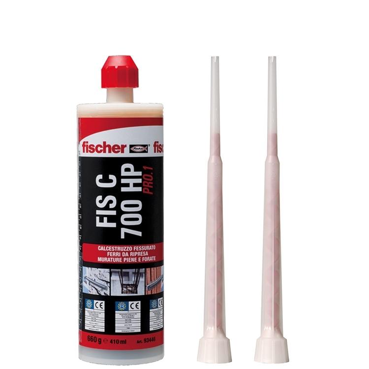 Resina FIS C 700 HP PRO.1 - La resina hybrid per ancoraggi in calcestruzzo fessurato, riprese di getto e muratura