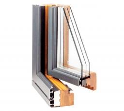 Infissi in legno-alluminio