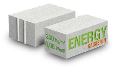 Gasbeton energy