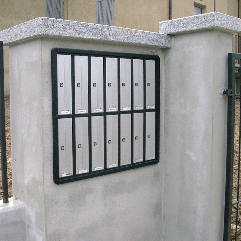 Cassette Postali Condominiali Incassate a Muro