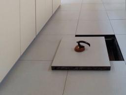 Finitura superiore per pavimento sopraelevato Laminato