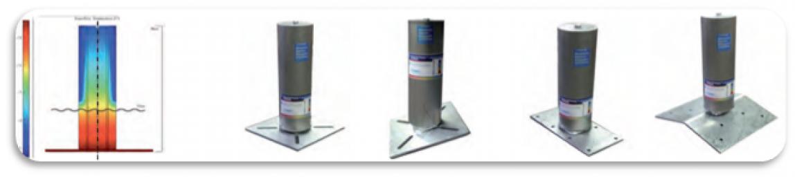 Pali a tagli termico per linee Travspring® e Travsmart®