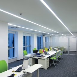 Serie VECTOR SYSTEM Art. M-L Led Linea ARCHITECTURAL