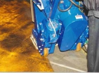 Pallinatrici per ferro 350E
